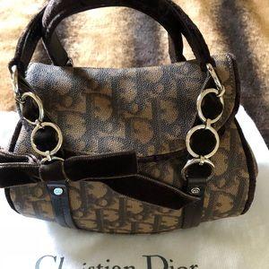 Vintage DIOR Monogram Romantique Trotter mini bag